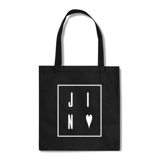 JIN BTS fan KPOP Totebag