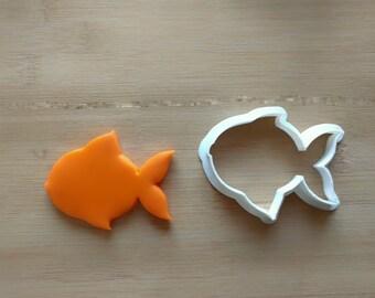 Tiger cookie cutter big cat cutter animal shaped cookie for Fish shaped cookie cutters