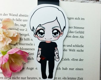 "Magnetic bookmarks ""Sebastian Morgenstern"" - inspired by Shadowhunters by Cassandra Clare"