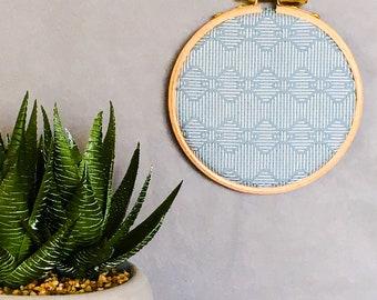 Embroidery hoop art, home decor, wall art, wall hanging