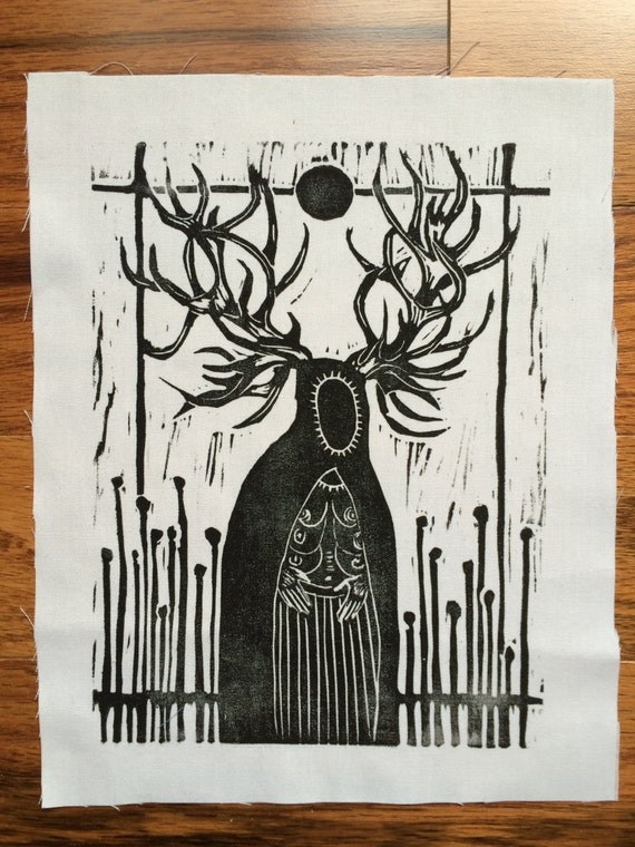 Stag Creature Patch