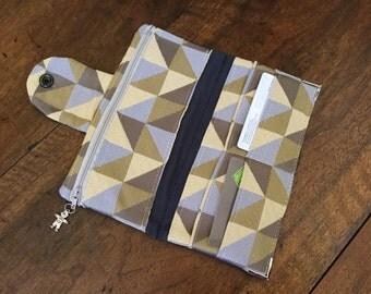 Wallet (travel companion) in cotton canvas - ref PF3