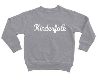 Kinderfolk Pullover Sweater in Grey