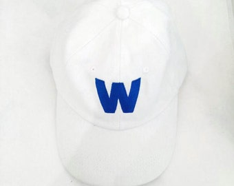 Chicago Cubs W Baseball Cap - Fly the W Baseball Hat - Cubs Fan Hat - White Baseball Cap