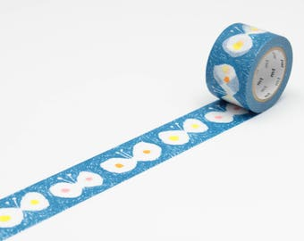MT Washi tape - blue hana hane