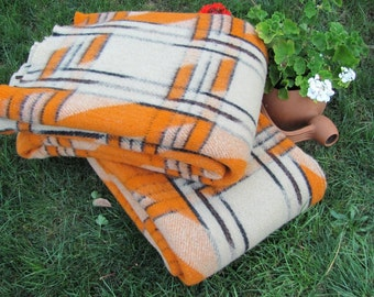 Wool Blanket and Throw, 100% Organic wool, Gift for Her, Gift for Him, New Home Gift,Cozy home, Cottage style Made in EUROPE!