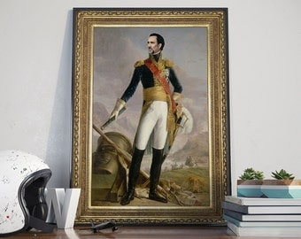 General Nicolas Cage - Poster, Portrait, Faceswap, Funny