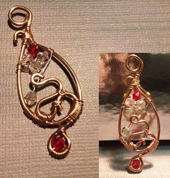 Copper Red Pendant