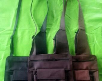 Crossbody service bag