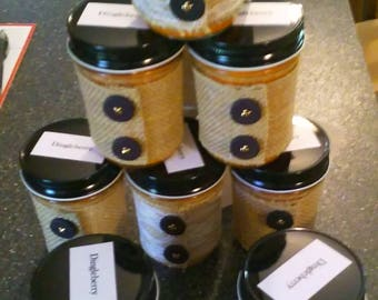 Hand Poured Soy Wax Candles Dingle Berry 8 ounce