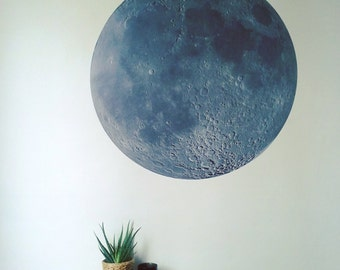 The Moon wall decal