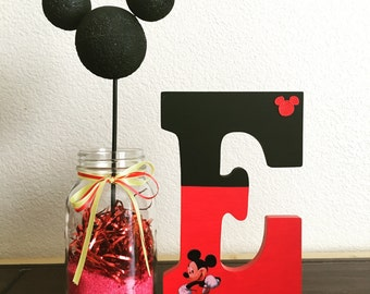 """Mickey or Minnie Inspired letters 9"""""""