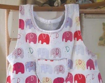 elephant toddler bib