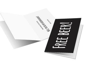 Groomsmen Card - Groomsmen Greeting Card - Groomsman Request Card - Wedding Card - DIY Wedding Card- Printable Bridal Party Card
