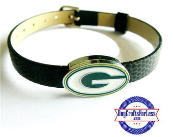 GREEN BAY Charm for 8mm Slider Bracelets, Collars, or Key Rings  +FREE Shipping & Discounts*