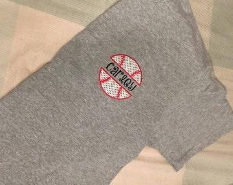 Split Name Baseball T-Shirt