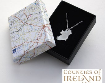 Ireland Pendant/Personalised