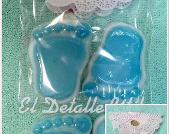 SOAP huellita Baby for shower, baptism, etc. Colors and scents to choose.