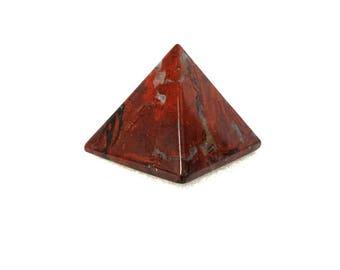 Brecciated Jasper Crystal Quartz Rock Pyramids / Crystal Healing