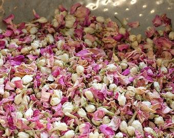 Wedding Confetti Rose Petal Toss ~ 'BLOSSOM' Rose Petal and Jasmine Bud ~ Biodegradable ~ Bloom Box ~ BULK BUY ~ 40 cones or portions