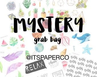 Mystery Grab Bag - Bullet Journal Stickers - Planner Stickers - Decorative Stickers - Functional Stickers