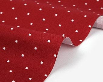 Dailylike (cotton) -  Festival red window Fabric- 50cm