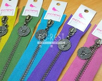 Zippers| Echino metal Size NO.5 Zipper - 20/40/50cm