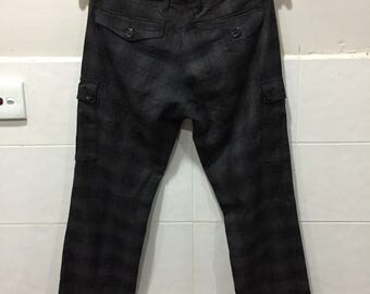 Burberry Black Label Checked Pant