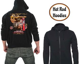 Zipper hoodie Rod service