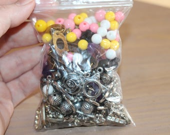 Small craft grab bag - beads and things