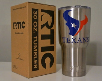 Texans Inspired 30 or 40 oz. RTIC Tumbler
