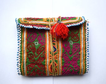 Vintage,Middle east,Beadwork Purse,boho purse,boho bag,travel,money,festival,boho chic,hippie,beadwork,jewellery,gypsy purse,festival bag