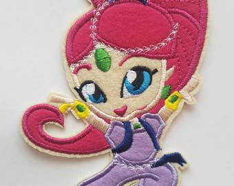Shimmer and Shine inspired patch, Shimmer from Shimmer and shine iron on inspired patch