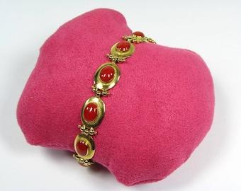 Vintage bracelet in yellow gold