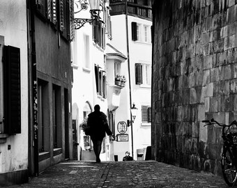 An Afternoon In Zurich, Switzerland, Travel Photography, Fine Art Print