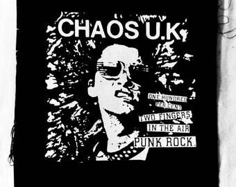 Chaos UK / Back Patch
