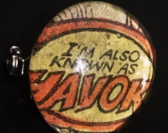 ON SALE I'm Also Known as Havok Glass Pin