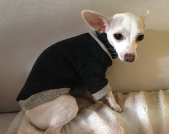 Cappotto per cani in lana -wool dog coat   - dress dog clothes Tg. S chihuahua size