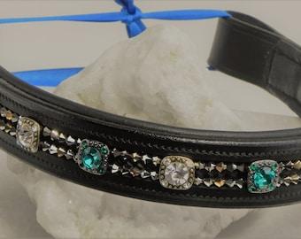 17 inch Swarovski Crystal Browband