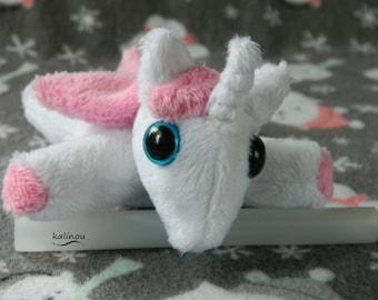 Tiny unicorn plush