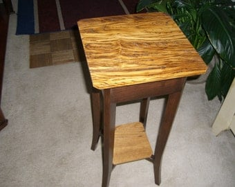 Aged Barn-wood Accent Table