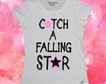 FALLING STAR  - t-shirt donna