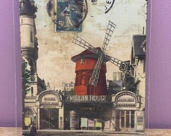 Card mailing old Paris 1911