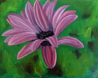 "Original Oil Painting ""Petals"", 18x24cm"