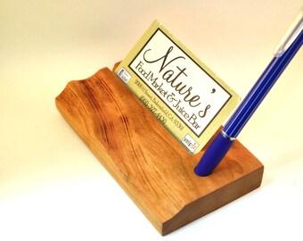 Business card holder, pen holder