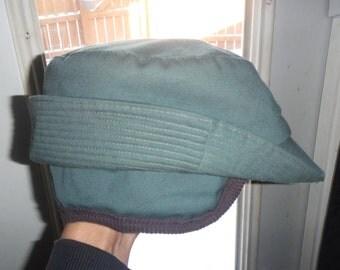 Vintage Childrens Hunting Hat C/W Ear Flaps