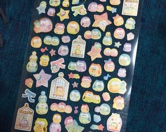 Kawaii Owl Stickers from Japan