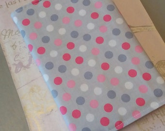 A6 Fabric covered notebook