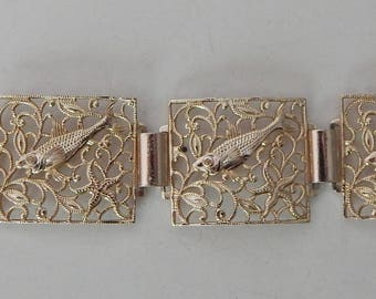 Looks Fishy to Me Fish Bracelet - Made in Germany Aluminum