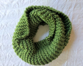 Green Classic Infinity Scarf | Green Scarf | Classic Infinity Scarf | Green Scarf Ready to Ship
